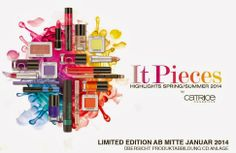 """Betty Nails: Limited Edition """"It Pieces"""" by CATRICE [Press Release] Press Release, Nails, Acrylics, Electric, Cosmetics, Finger Nails, Ongles, Acrylic Nails, Nail"""