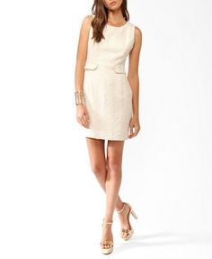 Strappy Boucle Tweed Dress | FOREVER 21 - 2021841017
