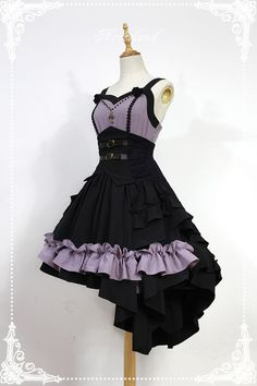 Neverland Lolita -Blazing Angels- Lolita Corset Jumper Dress