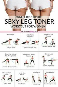 Leg Toner Workout for Women - New Ideas - Best ab workout for women - # . - Leg Toner Workout for Women – New Ideas – Best ab workout for women – - Body Workout At Home, Best Ab Workout, Gym Workout Tips, Easy Workouts, Exercise Cardio, Workouts For Legs, Bikini Body Workout Plan, Skinny Leg Workouts, Leg Workout Routines
