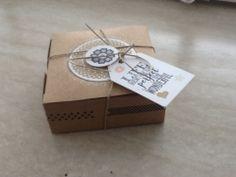 window gift box gestempeld met Stampin UP! materialen en inkt.