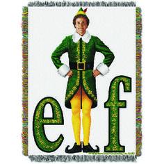 Elf Movie Pose Entertainment 48x60 Tapestry Throw