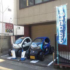 sea:mo(シーモ) #神戸 #kobecity ワンウェイ型カーシェアリング #carsharing NISSAN New Mobility Concept(NMC) 2人乗り #newmobilityconcept #twizy #twoseater #nissannewmobilityconcept #シーモ #seamo  #nissan #electriccar #electricvehicle #renaulttwizy #zeroemission #日産 #超小型モビリティ #電気自動車 by kumamon5515
