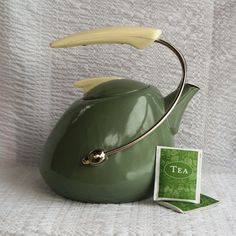 Awesome Vintage Atomic Space Age Tea Kettle from etsy