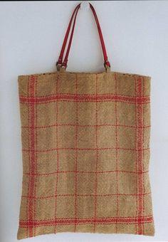 Big Bag Handmade Jute Linen Bags di ThisandThatFromJapan su Etsy