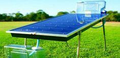 Teknologi desalinasi air laut makin berkembang, salah satunya teknologi desalinasi air laut yang memanfaatkan energi matahari