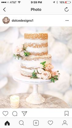 Cool Wedding Cake From Tropical Inspiration In Austin Texas