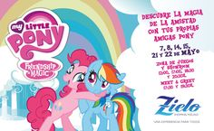 ¡¡MY LITTLE PONY en Zielo Shopping Pozuelo!!  Recién llegados de Ecuestria y por primera vez en España llegan tus Ponys favoritos.  Tenemos un montón de sorpresas para tí, diviértete en el Watch & Play Area, habrá pintacaras, juegos interactivos y exposición de tus Ponys favoritos, además en el Meet & Greet podrás fotografiarte con TWILIGHT SPARKLE la líder de los Ponys.  Un lugar para comenzar un verdadero y apasionante viaje por Ecuestria.  Apúntate las fechas y no te pierdas todas las…