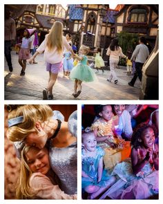"""Step into a storybook village square at Fantasy Faire – right in the heart of Disneyland Park – where """"once upon a time"""" begins and """"happily ever after"""" happens every day. Meet Disney Princesses at Royal Hall, see live shows, shop, snack and revel in the enchantment of this charming land."""