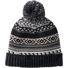 SmartWool Camp House Beanie ($43) ❤ liked on Polyvore featuring accessories, hats, beanie hats, beanie caps, beanie cap hat, smartwool beanie and smartwool hat