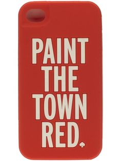 paint the town red / kate spade