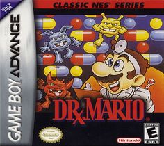 Classic NES Series: Dr. Mario on Nintendo Gameboy Advance. Avaliable Now.