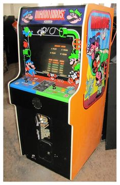 mario bros arcade machine - Google Search