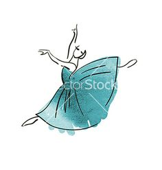 Related Pictures Ballet Girl Coloring