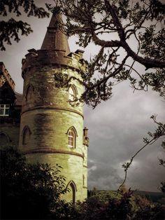 Medieval Tower, Inveraray Castle, Scotland  photo by moyabrenn