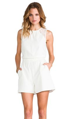 6dd406abcb1 White lace romper   . Courtney Evangelista