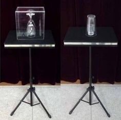 Remote control Glass Breaking and coin into glass table - Magic Tricks,Mentalism,Accessories,Illusion,gimmick Glass Table, A Table, Magic Props, Organic Glass, Magic Tricks, Half Dollar, Classic Toys, The Magicians, Illusions