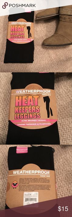 Best fleece lined leggings I've had fleece lined leggings before but these will keep you warm without adding too much bulk to your legs.  Nice soft feel, and plenty of room for long legs and a high waist. Size medium/large. weatherproof legwear Pants Leggings