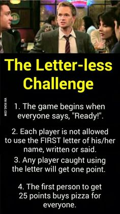 A few tweaks can make this an interesting drinking game