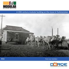 #tbt: 19th centry modular in Turkmenistan. It's not a new technology! -- photo shared by MBI member company DORCE Prefabricated Building and Construction Industry Trade Inc.