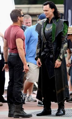 Tom makes Jeremy Renner look tiny!