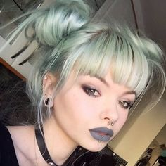 Grey lipstick, think this is lime crime cement