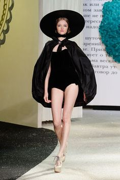 Ulyana Sergeenko - Haute couture - Printemps-été 2013