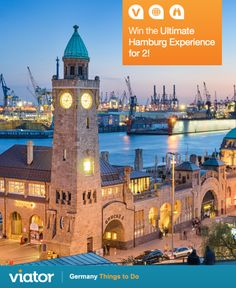 Enter to win the Ultimate Hamburg Experience for 2!