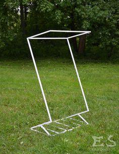 Standing hanger, hallstand, rack, iron, metal, metalowa konstrukcja, industrial, Victor, Kraina ES