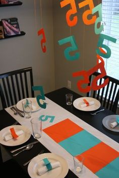 Simple Party for a 5 Year Old http://www.assortmentblog.com/assortment/2008/12/party-for-five.html