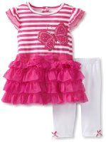 Amazon.com: Young Hearts Baby-girls Infant 3 Piece Pullover With Skirt And Pant: Clothing