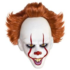 Scare your friends in our realistic Pennywise the Dancing Clown Mask! Our latex Pennywise Mask features the signature pointy-toothed grin of this killer clown! Halloween Costume Shop, Adult Halloween, Halloween Masks, Halloween Costumes For Kids, It Costume, Clown Costumes, Costume Contest, Halloween 2020, Funny Halloween