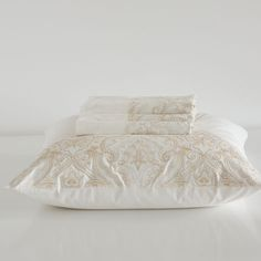 EMBROIDERED PAISLEY PERCALE BED LINEN - Bed Linen - Bedroom | Zara Home Germany