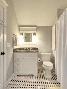 Ceramictec 12x12 daltile fabrique unpolished gris linen for Small bathroom design 6x6