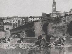 El Riu Segre -Lleida Ciutat - 1932