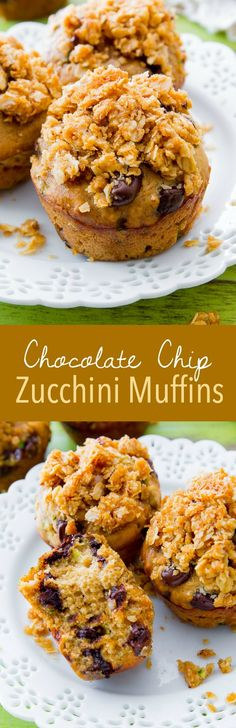 Simple Chocolate Chip Zucchini Muffins are my go-to in the summer!