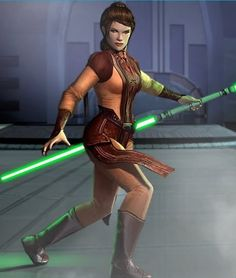 Bastila Shan from Knights of the Old Republic