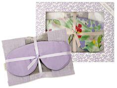 (15) Silk Sleep Mask + Lavender Scented Pillow Insert by elizabethW from Julie Morgenstern on OpenSky