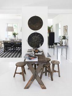 Home of Tine Kjeldsen of TineK Home, Funen, Denmark  PHOTO Jacob Gils for issue #4