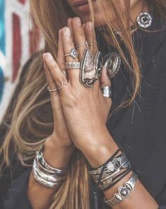 » bohemian jewelry » turquoise » rings » slave bracelets » arm cuffs » boho style » anklets » flash tattoos » silver & gold » body chains » gypsy jewels »