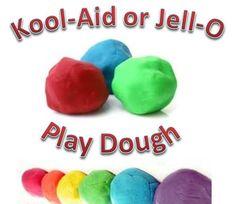 Play Dough - Kool-Aid or Jell-O