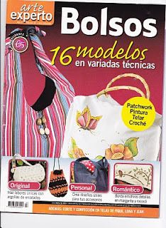 Revistas de Manualidades Para Descargar: Bolsos y carteras Inspirational Readings, Sewing Magazines, Stitch Magazine, Patchwork Bags, My Scrapbook, Sewing Basics, Book Crafts, Craft Books, Knitted Bags