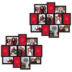 basic 12 opening collage frame set of 2 bundle
