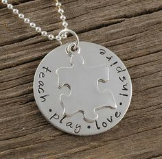 Such a sweet necklace.  This is the kind of mother/ teacher I want to be.  :) $37.00