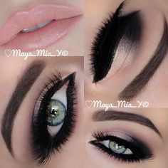 .@maya_mia_y | Arabic Makeup   More pix and tutorial coming up.. Products used by : @Dana Curtis Curtis Jade... | Webstagram