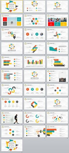 31+ multicolor infographics PowerPoint template
