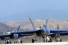 Blue Angels in Miramar, CA