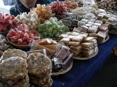 Dulces Tipicos PR....typical Puerto Rican candy and sweets....... SUVENEERS STATIONS