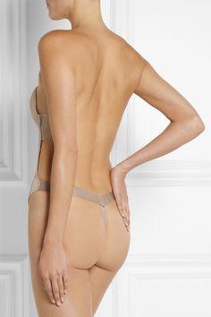 714ef49af0 Fashion Forms U-plunge Self-adhesive Backless Thong Bodysuit - Neutral