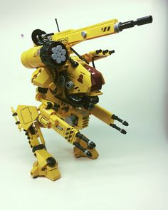 https://flic.kr/p/VH3zGk | Masquerader X11 | Somewhat inspired by the Marauder mechwarrior designs. This one comes with the heavy load out package (shoulder rockets at no extra cost). So ya... life. Super busy, much good, little time for Lego - but sometimes miracles happen.